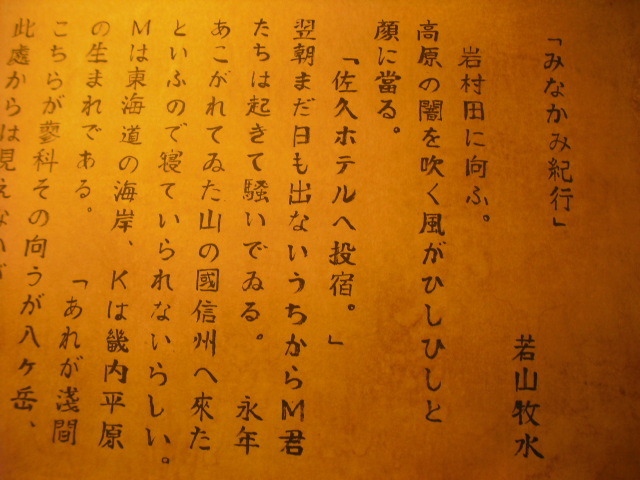 佐久ホテルと六論衍義大意(りくゆえんぎたいい)(2015.05.16) | 鯉 ...